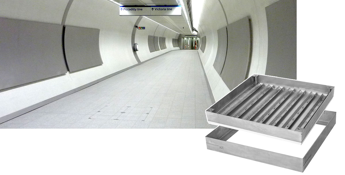 1050 Series Floor Access Covers | London Underground